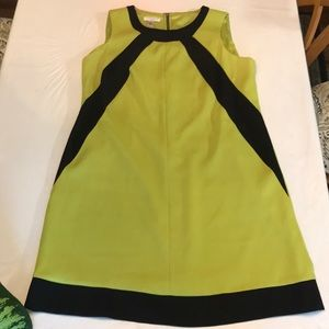 London Style Green office dress size 14w POCKETS!
